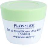 FlosLek Laboratorium Eye Care Gel für den Augenbereich mit Gemeinem Augentrost und grünem Tee