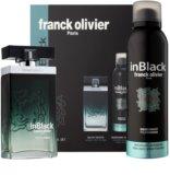 Franck Olivier In Black Pour Homme Geschenkset I.