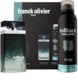 Franck Olivier In Black Pour Homme Gift Set