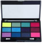 Freedom Pro 12 Chasing Rainbows paleta očných tieňov s aplikátorom