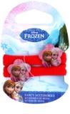 Frozen Princess bawełniane gumki do włosów z kwiatkiem