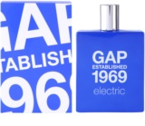 Gap Gap Established 1969 Electric Eau de Toilette pentru barbati 100 ml