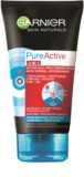 Garnier Pure Active čistiaca starostlivosť proti čiernym bodkám s aktívnym uhlím 3 v 1 pre mastnú a problematickú pleť