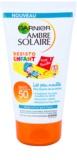 Garnier Ambre Solaire Resisto Kids crema solar resistente al agua para niños SPF 50