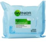 Garnier Essentials Sensitive odličovacie obrúsky pre všetky typy pleti vrátane citlivej