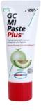 GC MI Paste Plus Melon schützende remineralisierende Zahncreme für empfindliche Zähne mit Fluor