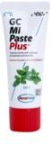 GC MI Paste Plus Mint ásványfeltöltő védőkrém az érzékeny fogakra fluoriddal