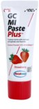 GC MI Paste Plus Strawberry creme protetor remineralizante para dentes sensíveis com fluór