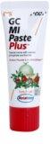 GC MI Paste Plus Tutti-Frutti remineralizační ochranný krém pro citlivé zuby s fluoridem