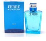 Gianfranco Ferré Acqua Azzura Eau de Toilette für Herren 100 ml