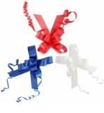 Giftino      lazos decorativos para regalos -  3 colores  (90 x110 mm)