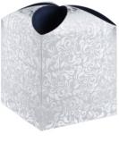Giftino Cutie cadou stea, model floral (121 x 155 x 121 mm)