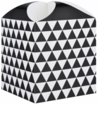 Giftino      caixa para presente estrela geometry  (121 x 155 x 121 mm)