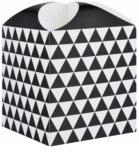 Giftino      подарункова коробка зірка  geometry (121 x 155 x 121 mm)