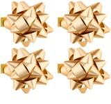Giftino gwiazdy samoprzylepne na prezent małe - połyskujące w czterech kolorach Gold