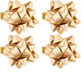 Giftino     gwiazdy samoprzylepne na prezent małe - połyskujące w czterech kolorach
