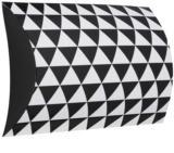 Giftino      pudełko na prezenty geometry duże (240 x 210 x 76 mm)
