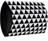 Giftino      Gift Box Geometry - Small (110 x 136 x 40 mm)