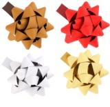 Giftino      estrella decorativa adhesiva, pequeña, conjunto de 4 colores