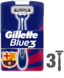Gillette Blue 3 FCBarcelona eldobható borotva