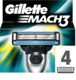Gillette Mach 3 Spare Blades nadomestne britvice