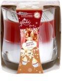 Glade Luminous Apple Spice and Vanilla 2 in1 ароматизована свічка  135 гр