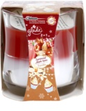 Glade Luminous Apple Spice and Vanilla 2 in1 ароматна свещ  135 гр.
