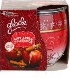 Glade Cosy Apple & Cinnamon illatos gyertya  120 g