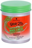 got2b Made 4 Mess Styling-Putty für das Haar
