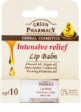 Green Pharmacy Lip Care intenzivni vlažilni balzam za ustnice SPF 10