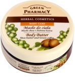 Green Pharmacy Body Care Shea Butter & Green Coffee manteiga corporal