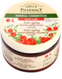 Green Pharmacy Face Care Cranberry crema nutritiva  antienvejecimiento