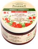 Green Pharmacy Face Care Cranberry crema nutritiva  antienvejecimiento