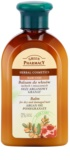 Green Pharmacy Hair Care Argan Oil & Pomegranate Balm for Dry and Damaged Hair