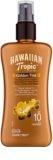 Hawaiian Tropic Golden Tint ochronne mleczko do ciała w sprayu SPF 10