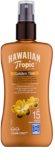 Hawaiian Tropic Golden Tint védő testtej spray formában SPF 15