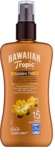 Hawaiian Tropic Golden Tint Lapte de corp protector în spray SPF 15