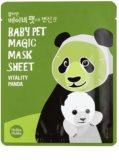 Holika Holika Magic Baby Pet revitalizačná a rozjasňujúca pleťová maska
