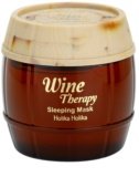 Holika Holika Wine Therapy нічна маска для обличчя проти зморшок