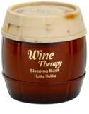 Holika Holika Wine Therapy maska za spanje proti gubam
