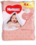 Huggies Soft Skin čisticí ubrousky s vitamínem E