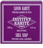 Institut Karité Paris Lavender tuhé mýdlo s bambuckým máslem