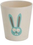 Jack N' Jill Bunny vaso de bambú y cáscara de arroz