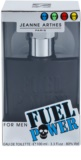 Jeanne Arthes Fuel Power Eau de Toilette para homens 100 ml