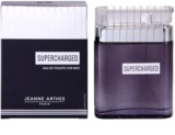Jeanne Arthes Supercharged Eau de Toilette para homens 100 ml