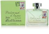John Galliano Parlez-Moi d´Amour Eau Fraiche Eau de Toilette para mulheres 80 ml
