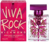 John Richmond Viva Rock deospray pro ženy 50 ml