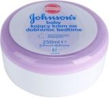 Johnson's Baby Care gyermek testápoló krém a kellemes alvásért