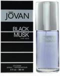 Jovan Black Musk Eau de Cologne para homens 88 ml
