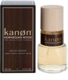 Kanon Norwegian Wood Eau de Toilette for Men 100 ml